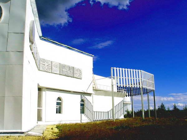 Здание саянской обсерватории в