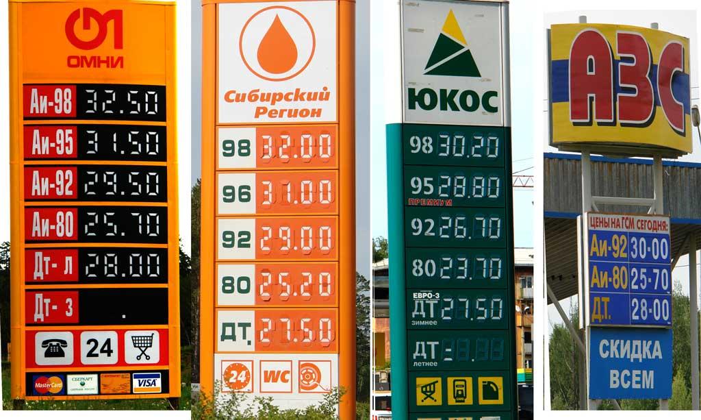 Каким будет рост цен на бензин в 2018 году в России