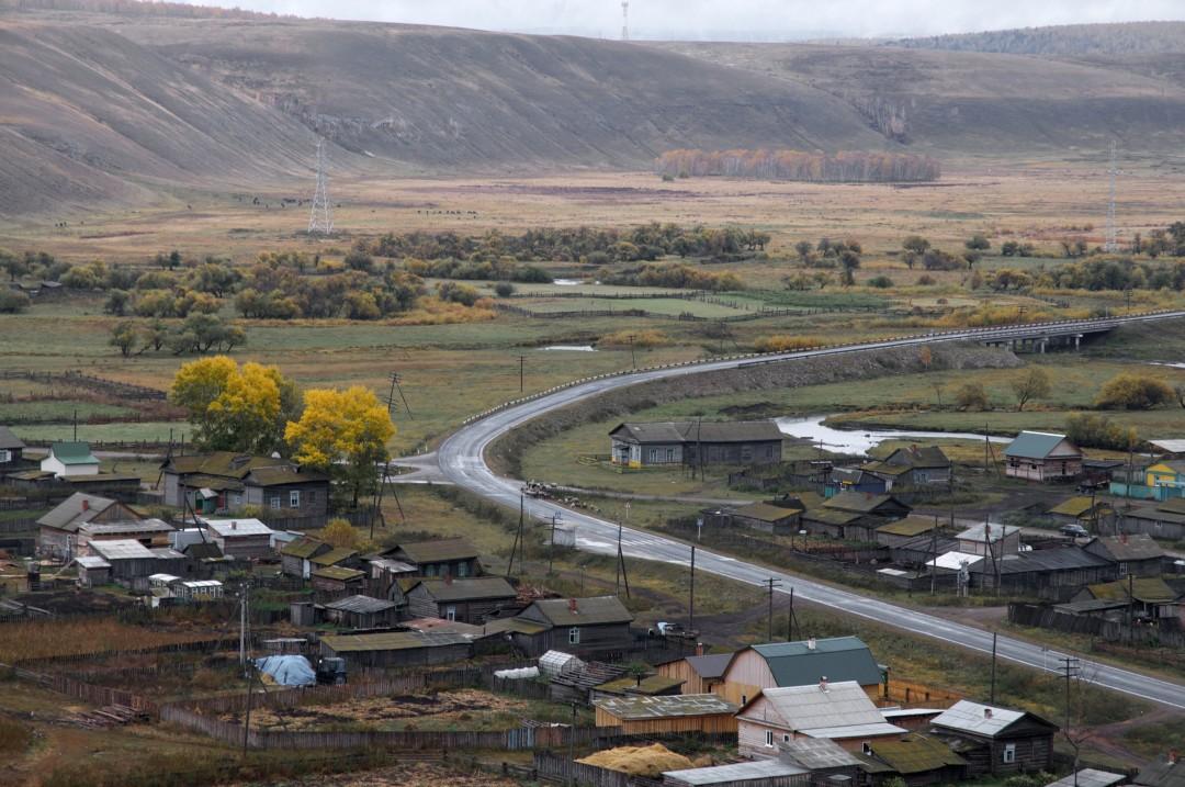 Фото села олонки