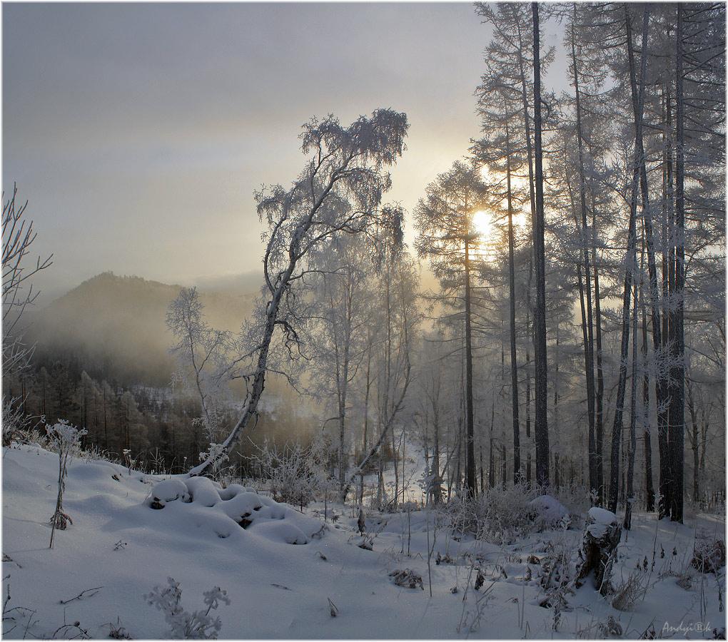 Рассвет на прибайкальской