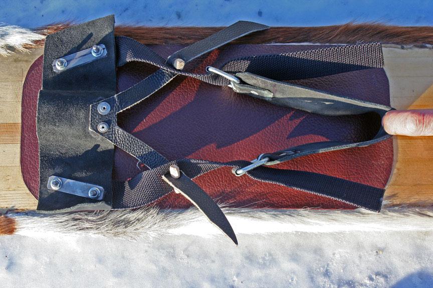 Как сделать охотничье лыжи 3
