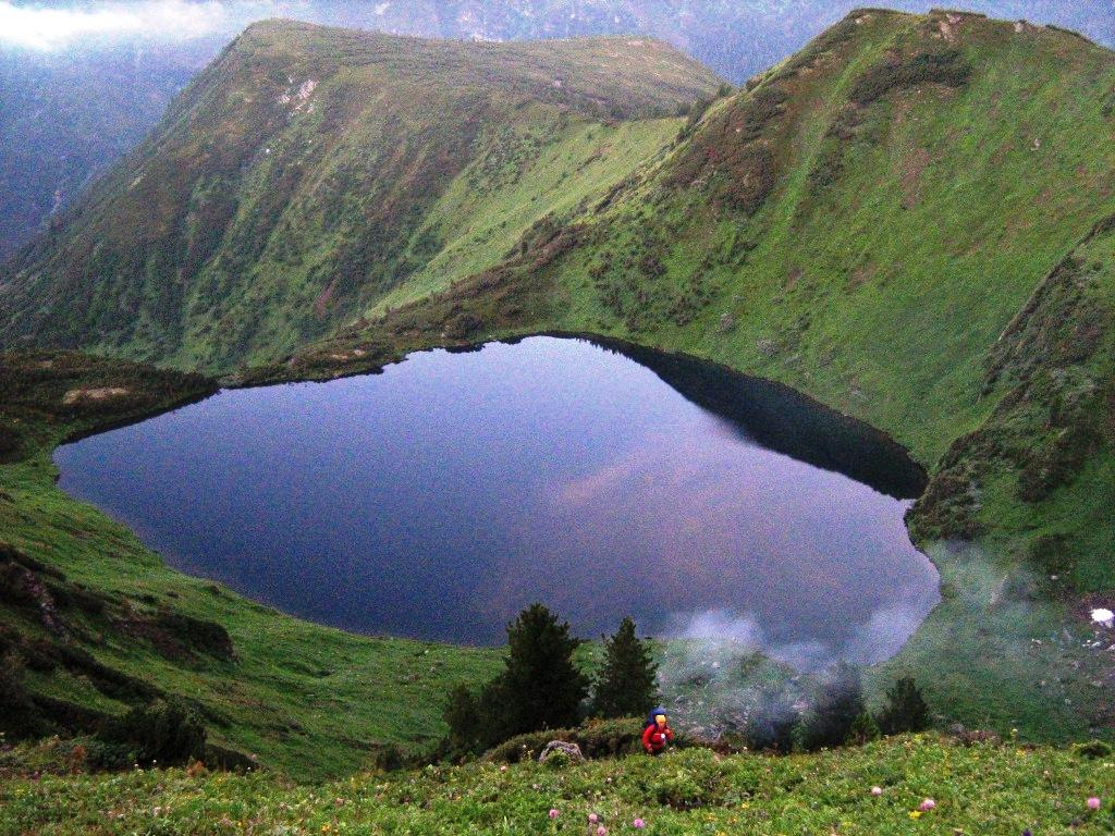 как называется самое высокогорное озеро на земле правда